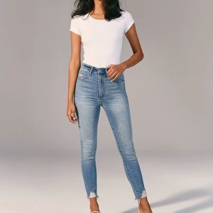 Ultra High Rise Super Skinny Ankle Jeans Size 27